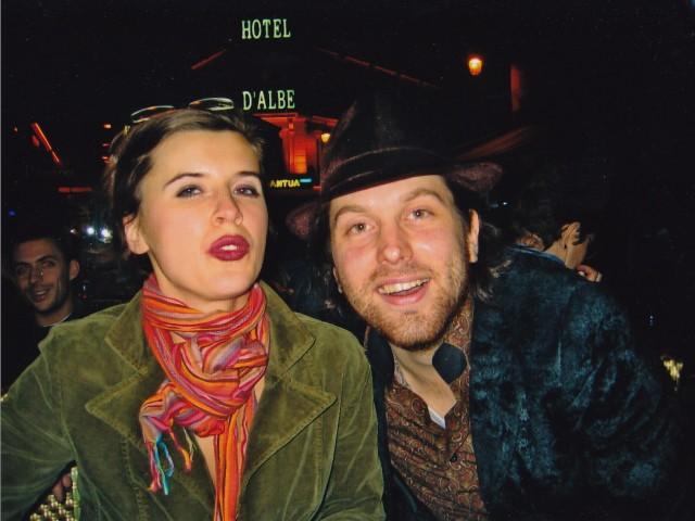Lilja og meg. Foto: privat