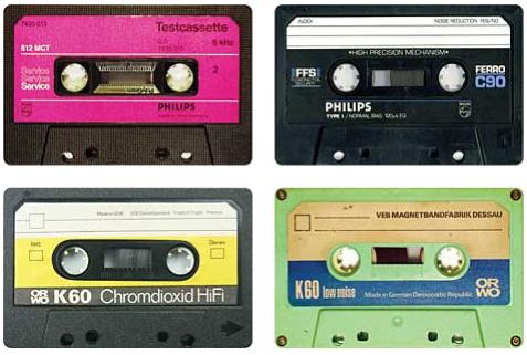 Erlend og Steinjo har metervis med kassettopptak.