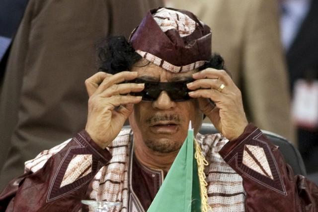 Ifølge ryktene hadde Muammar Gaddafi  en umettelig appetitt for viagra. (REUTERS/Carlos Garcia Rawlins/Files)