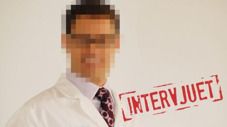 Den éne av de ti tannlegene. Han ønsker å være anonym (Foto: NRK P3).