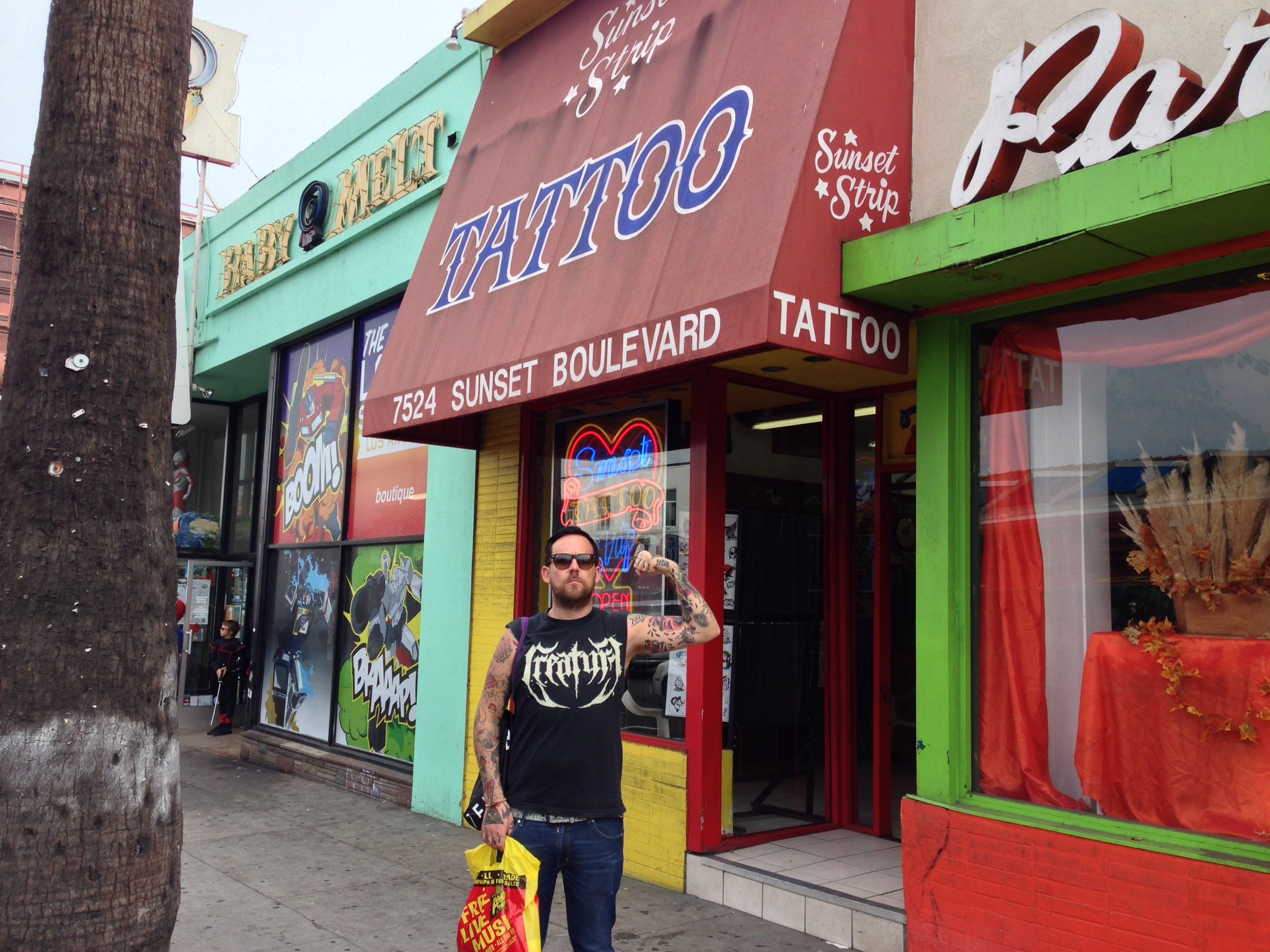 Sunset strip tattoo for My tattoo shop hollywood