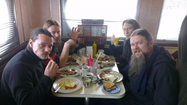 Avlysningsfrokost i Charlotte foto Omeed