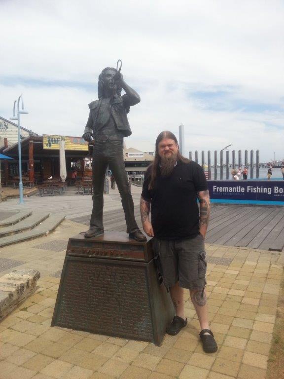 EnslavedAustraliaScott og Bjørnson i Fremantle foto Kabel