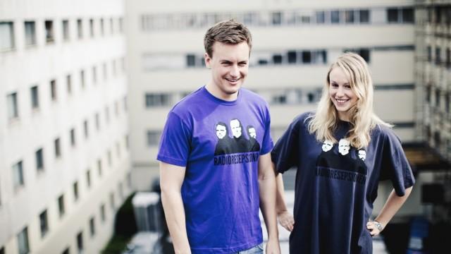 Radioresepsjonen t-skjorter (Foto: Jonas Jeremiassen Tomter).