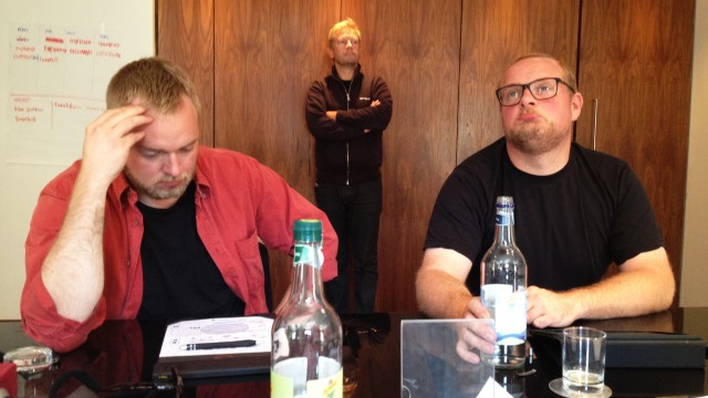 Radioresepsjonen på seminar i Skottland (Foto: Vilde Batzer, NRK P3).