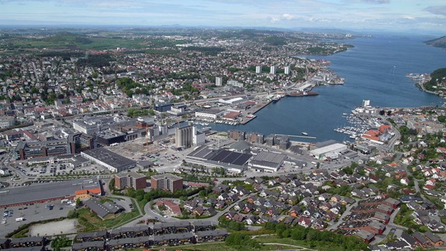 Sandnes (Foto: Wikimedia Commons).