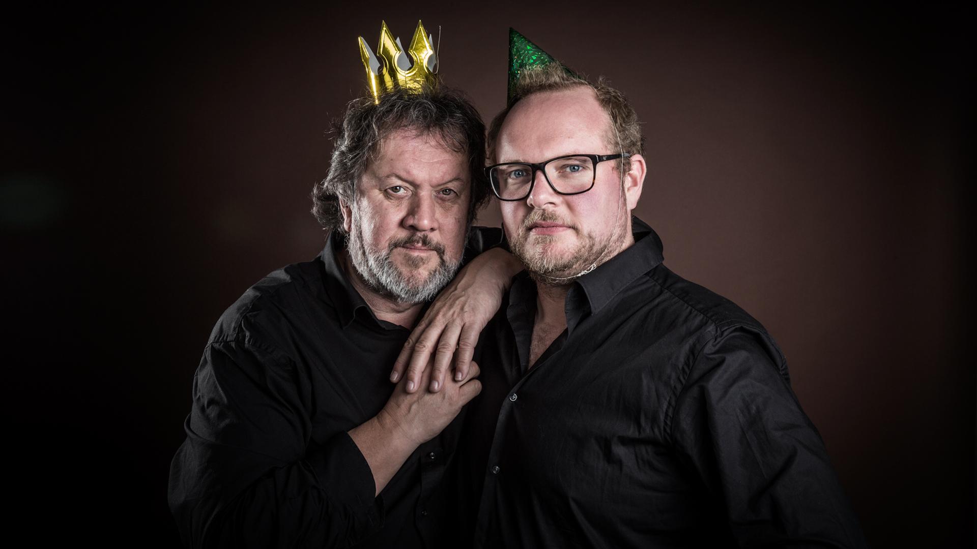 Steinar og Bjørns bærbare fredagsparty (Foto: Kim Erlandsen, NRK P3).