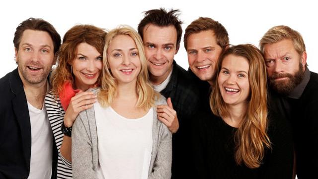 Underholdningsavdelingen, det nye programmet til Bjarte (Foto: Ole Kaland, NRK).