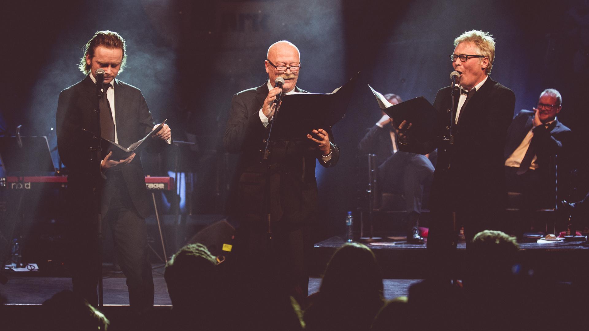 Jan Gunnar Røise, Nils Ole Oftebro og Kim Haugen tolker stikket