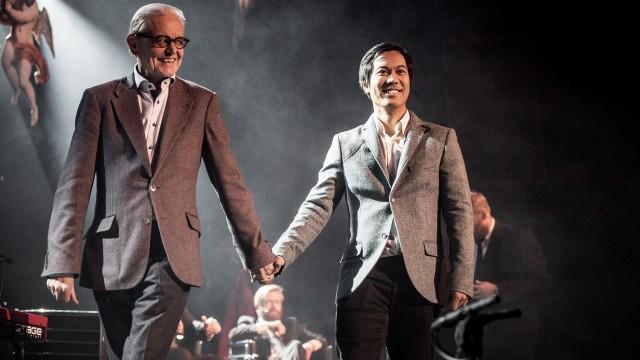 Arne og Christian Strand (Foto: Kim Erlandsen, NRK P3).