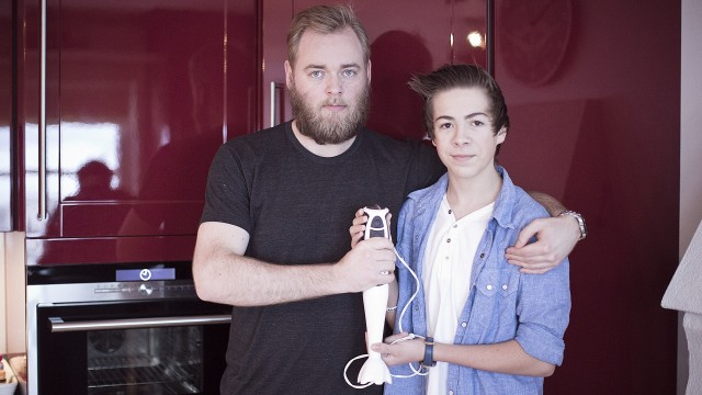 Tore og Mons (Foto: Jonas Bødtker, NRK P3)