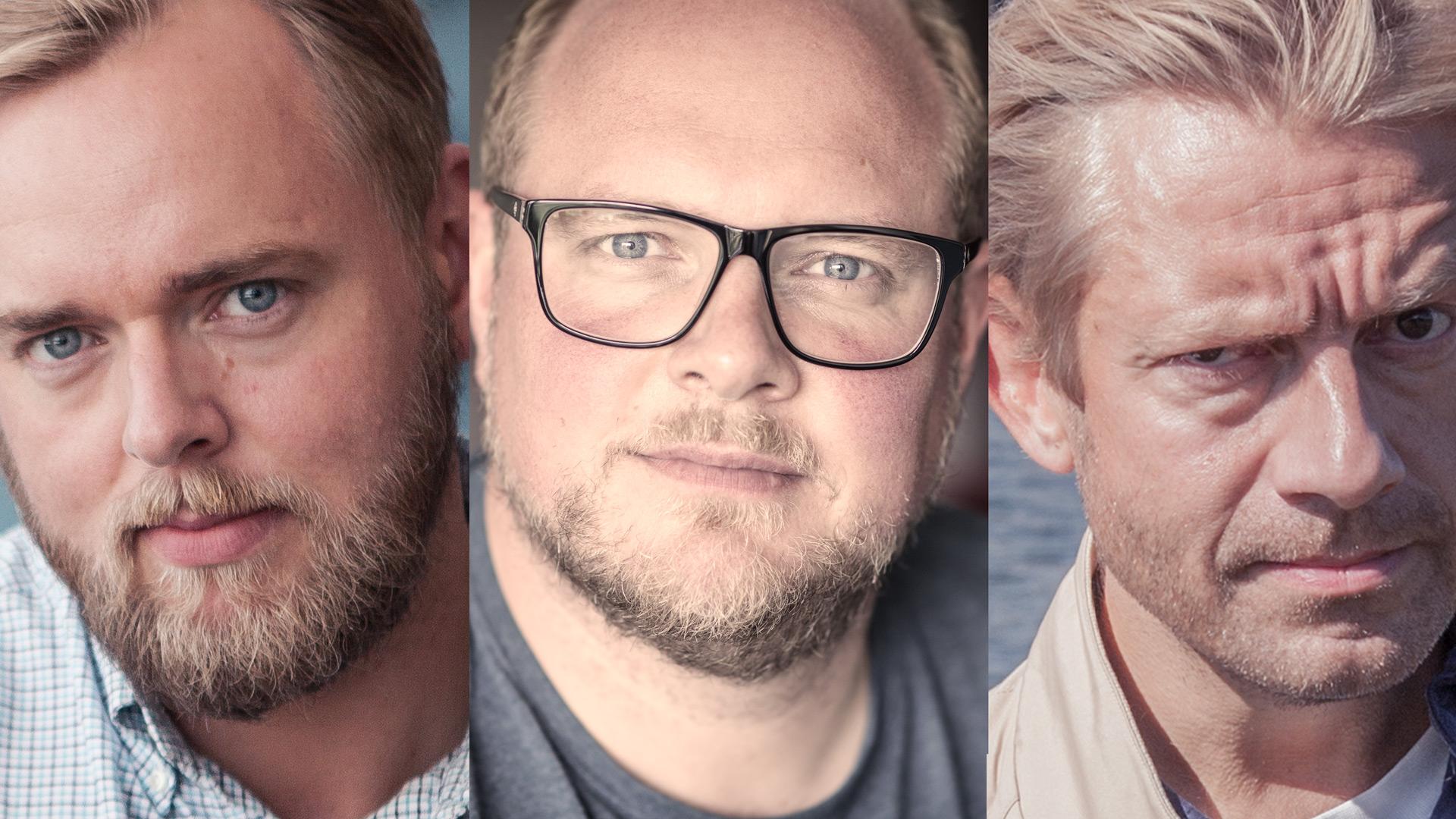 Bilder fra valgvake-promoen. Se promoen i nettsaken for første gang! Foto: Mattis Folkestad/NRK.
