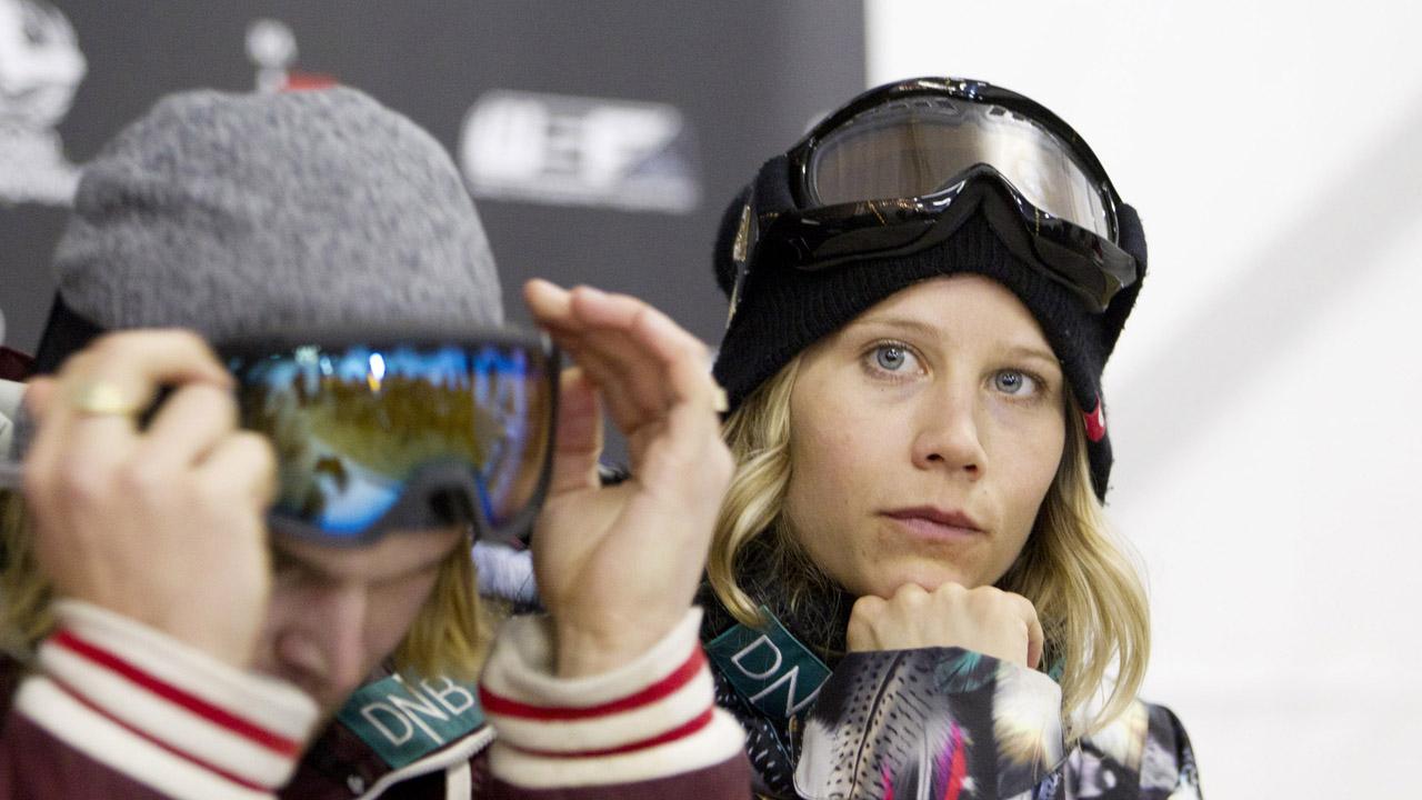 Kjersti Østgaard Buaas ønsker ikke å bli påklistret noe favorittstempel før halfpipe-konkurransen i snøbrett-VM.