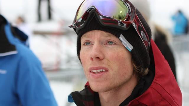 Torstein Horgmo etter kvalifiseringen i slopestylekonkurransen.