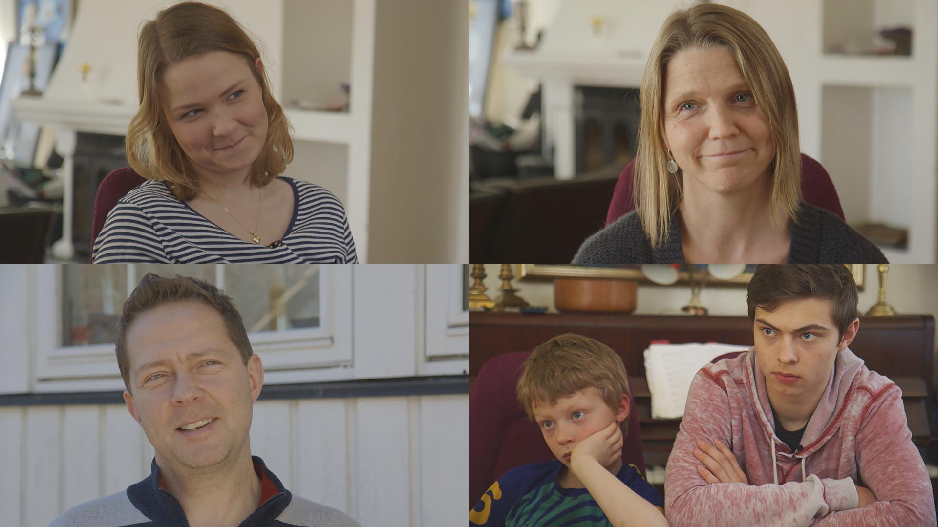 maja-med-familien