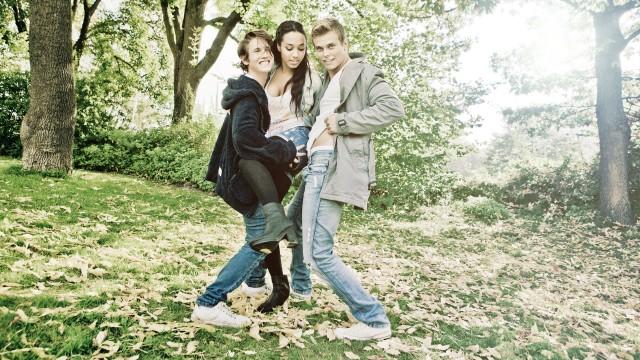 Benjamin, Johanna og Even skal gjøre høsten din finere og flauere i Trekant. (Foto: Kim Erlandsen, NRK P3)