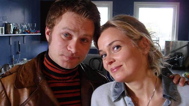 Line Verndal og Edward Schultheiss fra Himmelblå står fortsatt som et av de mest sette programmene i NRKs nett-tv. (Foto: NRK)